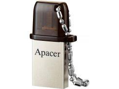 Флешка USB Apacer AH175 16 ГБ (AP16GAH175B-1) Black