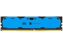 Пам'ять GoodRam Iridium Blue DDR4 1x8 ГБ (IR-B2400D464L15S/8G)