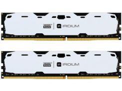 Пам'ять GoodRam Iridium White DDR4 2x4 ГБ (IR-W2400D464L15S/8GDC)