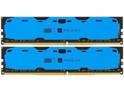 Пам'ять GoodRam Iridium Blue DDR4 2x4 ГБ (IR-B2400D464L15S/8GDC)