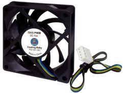 Вентилятор для корпуса Cooling Baby 7015 PWM Black