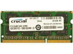 Пам'ять для ноутбука Micron (Crucial) DDR3L 1х4 ГБ (CT51264BF160B)