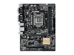 Socket 1151: Asus H110M-C, 2xDDR4, DVI, PCIEx16x, PCI, 4xSATA3, 4xUSB3.0, COM, LAN, 2xPS/2, mATX