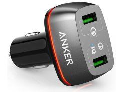 Зарядний пристрій Anker PowerDrive 2 Black  (A2224H11)