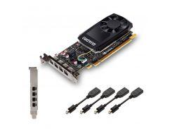 Відеокарта PNY Quadro P1000 (VCQP1000-PB/XVCQP1000-PB)
