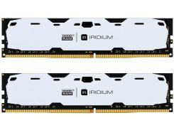 Пам'ять GoodRam Iridium White DDR4 2x8 ГБ (IR-W2400D464L15S/16GDC)