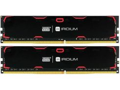 Пам'ять GoodRam Iridium Black  DDR4 2x8 ГБ (IR-2400D464L15S/16GDC)