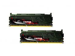 Пам'ять G.SKILL Snipper DDR3 2х4 ГБ (F3-2133C10D-8GSR)
