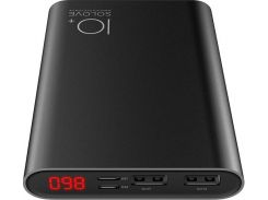 Батарея універсальна Solove A9s Power Bank 10000 mAh Black