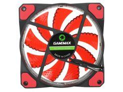 Вентилятор для корпуса Gamemax GMX-WF12R Red led Black  (GMX-GF12R)
