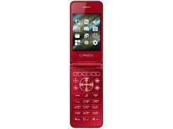 Мобільний телефон SIGMA X-Style 28 Flip Red