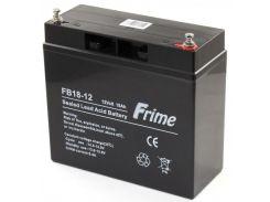Батарея до ПБЖ Frime 12V 18AH