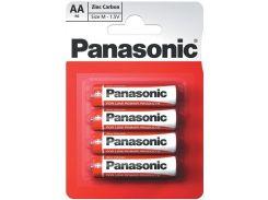 Батарейка Panasonic Red Zink R6 АА (BLI/4)