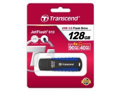 флешка usb  transcend jetflash 810 128gb ts128gjf810 blue