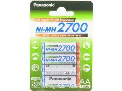 Акумулятор Panasonic High Capacity AA 2700 mAh (BL/4)
