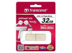 Флешка USB  Transcend JetFlash 820 32GB TS32GJF820G Gold