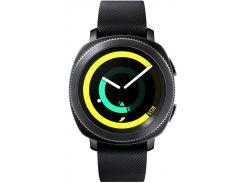 Смарт годинник Samsung SM-R600 Gear Sport Black  (SM-R600NZKASEK)