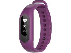 Ремінець для фітнес браслету Berace B15P Purple