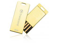 FLASH пам'ять Transcend JetFlash T3G 8GB TS8GJFT3G Gold
