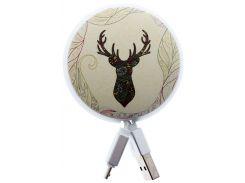Кабель JoyRoom PT-S01 AM / Micro USB Deer forest
