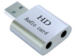 Зовнішня Dynamode USB-SOUND7-ALU silver
