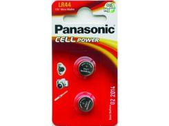 Батарейка Panasonic Alkaline LR44 AG13 (BL/2)