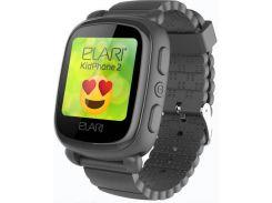 Смарт годинник Elari KidPhone 2 Black  (KP-2B)