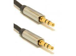 Кабель Cablexpert Jack 3.5mm male / 3.5m male 1m  (CCAP-444-1M)
