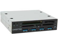 Кардрідер Chieftec CRD-801H Black