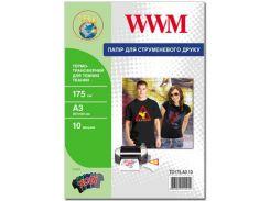 Термотрансфер А3 WWM для темних такнин 10 аркушів (TD175.A3.10)