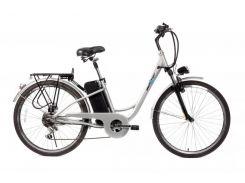 Електровелосипед Maxxter CITY 26 Silver  (CITY/Silver)