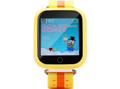 Смарт годинник Smart Baby Watch Q100s Yellow