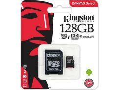 Карта пам'яті Kingston Canvas Select Micro SDXC 128GB SDCS/128GB