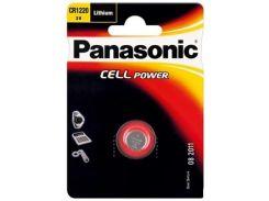 Батарейка Panasonic CR 1220 Lithium (BLI/1)