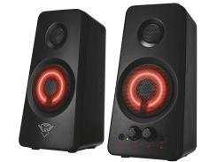 колонки trust gxt 608 illuminated speaker set black  (21202)