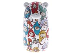 Батарея універсальна Solove Bear X10 Power Bank 10000mAh The beauty of autumn