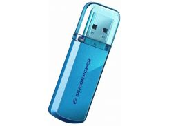 Флешка USB  Silicon Power Helios 101 16GB SP016GBUF2101V1B Blue