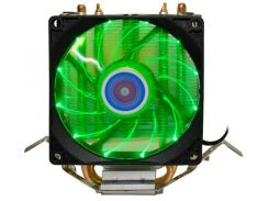 Кулер Cooling Baby R90 LED Green  (R90 GREEN LED)