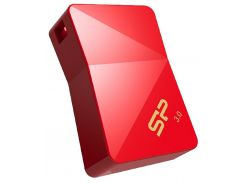 Флешка USB  Silicon Power Jewel J08 16GB SP016GBUF3J08V1R Red