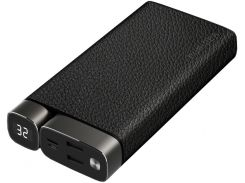 Батарея універсальна Puridea X02 20000mAh Leather Black