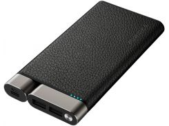 Батарея універсальна Puridea X01 10000mAh Leather Black