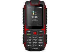 Мобільний телефон SIGMA X-treme DT68 Black-Red
