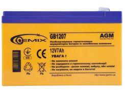 Батарея для ПБЖ Gemix GB1207  (GB1207 / 12V 7Ah)