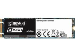 Твердотільний накопичувач Kingston A1000 2280 PCle 3.0 x2 NVMe 960GB SA1000M8/960G
