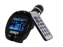 Цифровой FM-трансмиттер автомобильный Grand-X CUFM25GRX
