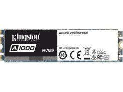 Твердотільний накопичувач Kingston A1000 2280 PCle 3.0 x2 NVMe 480GB SA1000M8/480G