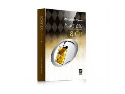 Флешка USB  Silicon Power Touch 850 8GB SP008GBUF2850V1A Gold