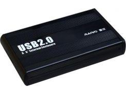 Кишеня зовнішня Maiwo K3502-U2S Black  (K3502-U2S black)
