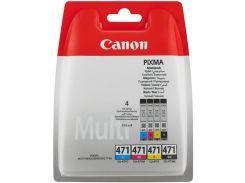 Комплект чорнил Canon CLI-471 MG5740/6840/7740