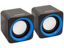 Колонки GREENWAVE SA-601 Black/Blue  (R0015168)